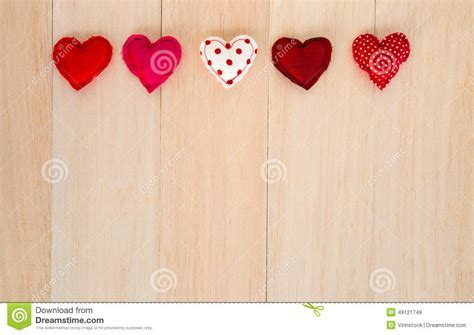 Happy Red Hearts With Blank Space For Wedding And