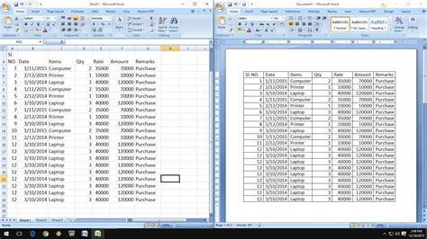 How To Insert Excel Table Into Word by How To Exact Copy Paste Excel Data Into Word Table