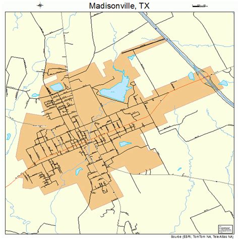 madisonville texas map madisonville texas map 4845996