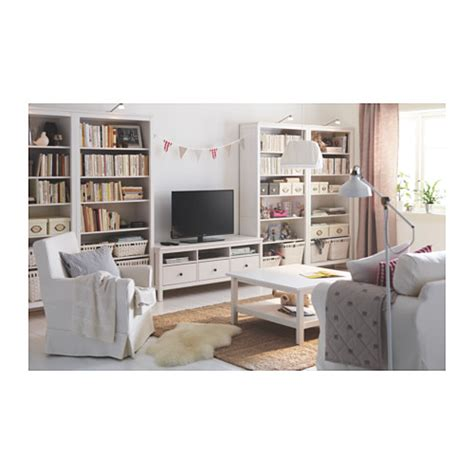 hemnes tv bench white stain 148x47 cm ikea