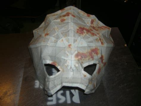 Splicer Mask Papercraft - real spider splicer mask by splicedup on deviantart