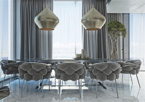 Gold Dining Room Light Fixtures 4 Masculine Apartments With Comfy Sofas And Sleek