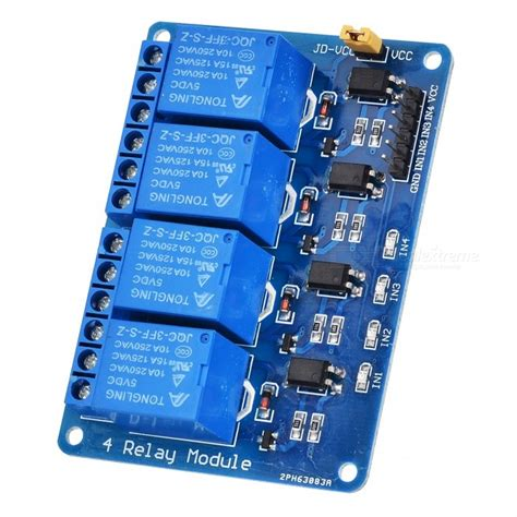 Module Isolated Relay 8 Channel Dengan Photocoupler 4 channel relay module board w optocoupler isolation