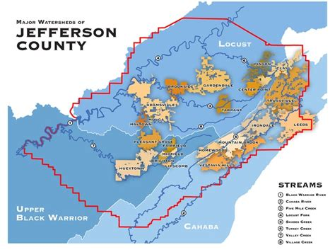 zip code map jefferson county al jefferson county alabama map bnhspine com