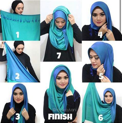 Segiempat By Radwah Walfed Scarf 05 tutorial hijabs and simple on