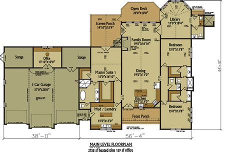 home floor plans 3 car garage one story rustic house plan design alpine lodge