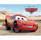 Lightning McQueen From Pixar's Cars Movie Wallpaper  Click Picture