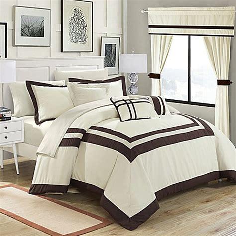 20 piece comforter set chic home bertran 20 piece comforter set bed bath beyond