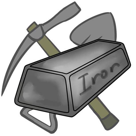 iron clip iron metal clipart