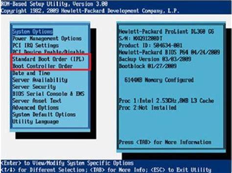 HP DL380 G6 Server   Not Booting   Hewlett Packard Enterprise Community