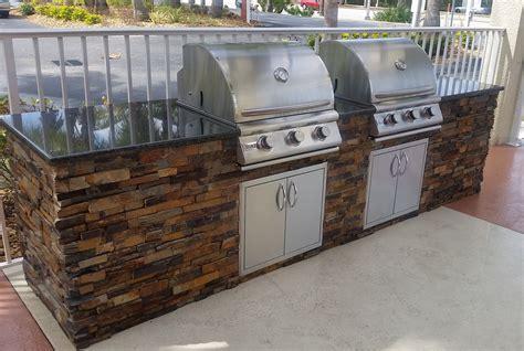 outdoor kitchen builder quot dueling grills quot custom outdoor kitchen build elegant