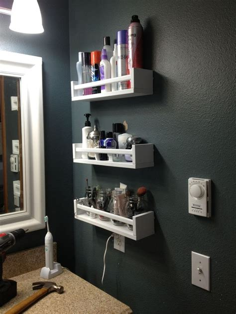 bathroom storage ideas ikea 18 ways to hack ikea spice racks