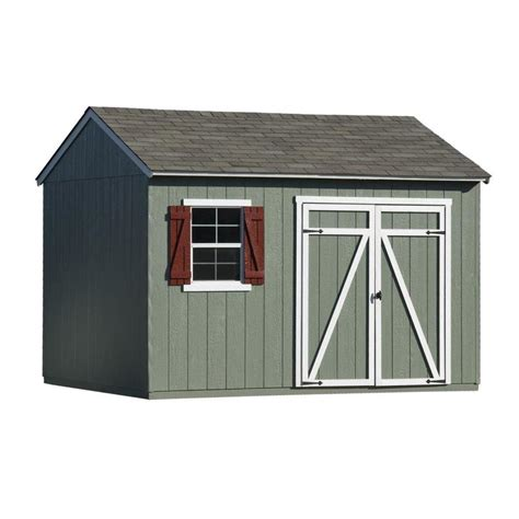 shop heartland gentry saltbox engineered wood storage shed
