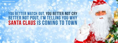 santa claus is coming to town quotes quotesgram