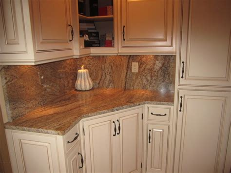 Matching Countertop And Backsplash by Martellaro Marble Granite In Chamois Mo Service Noodle