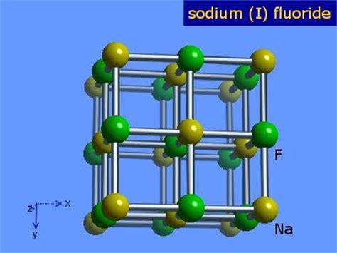 sodium fluoride diagram webelements periodic table 187 sodium 187 sodium fluoride