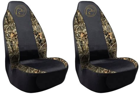 black duck camo seat covers ducks unlimited universal fit seat covers spandex