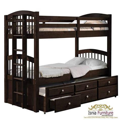 Tempat Tidur Tingkat Minimalis Murah 49 tempat tidur tingkat kayu minimalis jual harga murah