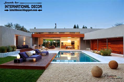 luxury pool house designs fashionable styles of luxury villas beautiful and comfort