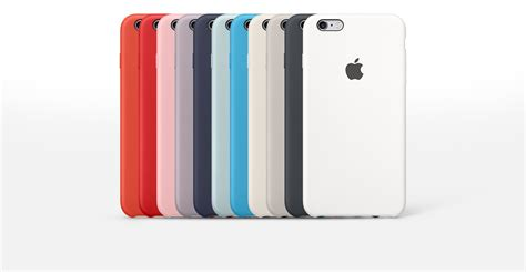coque iphone 6 s silicone apple