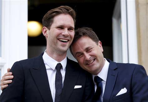 Hochzeit Xavier Bettel by Luxembourg S Prime Minister Xavier Bettel Marries His