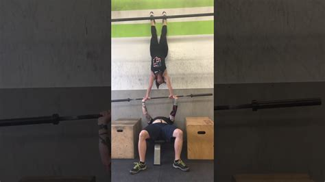handstand bench bench press handstand youtube