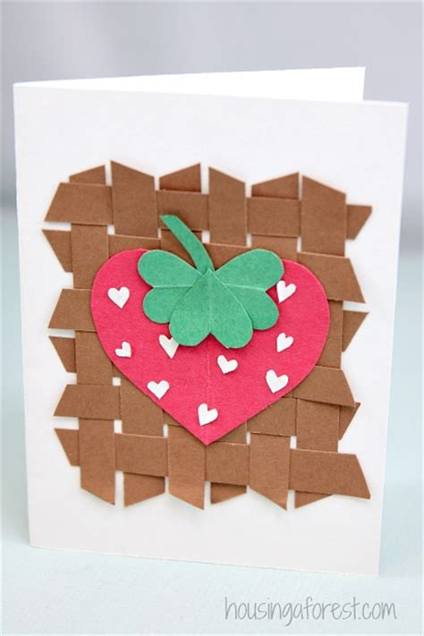 strawberry crafts for strawberry craft housing a forest