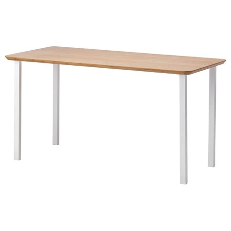 ikea desk table top hilver godvin table bamboo white 140x65 cm ikea