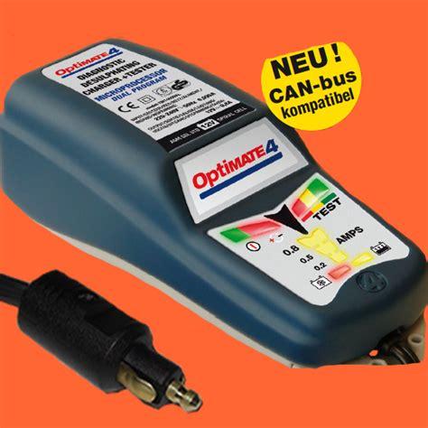 Motorrad Batterie Stecker by Optimate 4 Dual Bmw Batterie Ladeger 228 T Mit Din Stecker Can