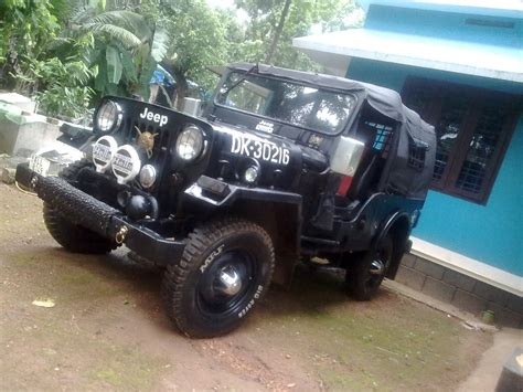 jeep mahindra modified mahindra jeep just a flashback