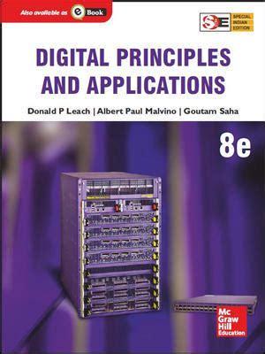 digital principles  applications  edition