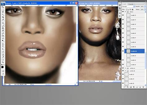 watercolor tutorial photoshop cs4 beyonce knowles speed painting photoshop cs4 airbrush