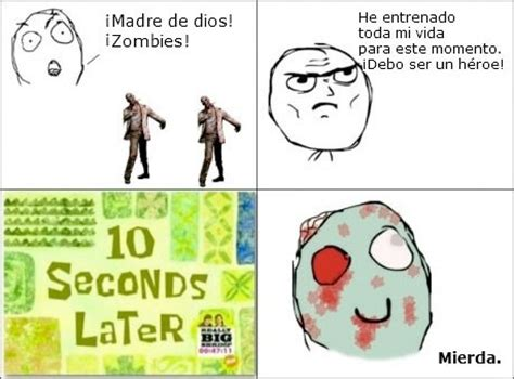 Meme Zombie - funny zombie apocalypse meme