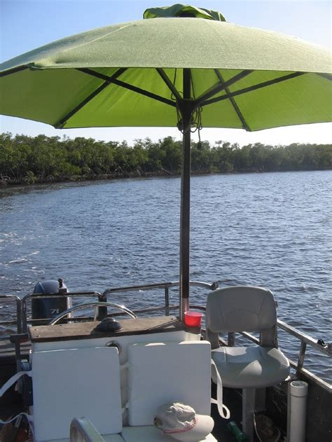fishing boat umbrella shade umbrella help the hull truth boating and
