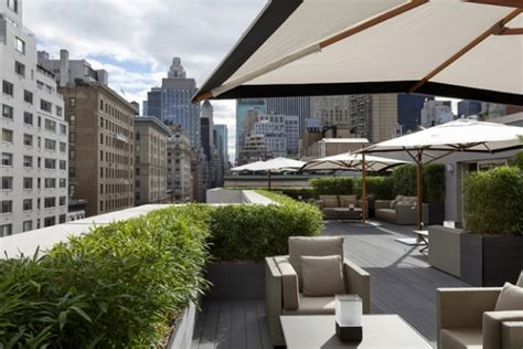 rooftop gardens terraces new york city interior