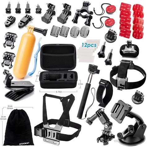 Gopro 5 Di Makassar accessories kit for gopro 5 4 3 3 2 1 only 8 80 with great reviews
