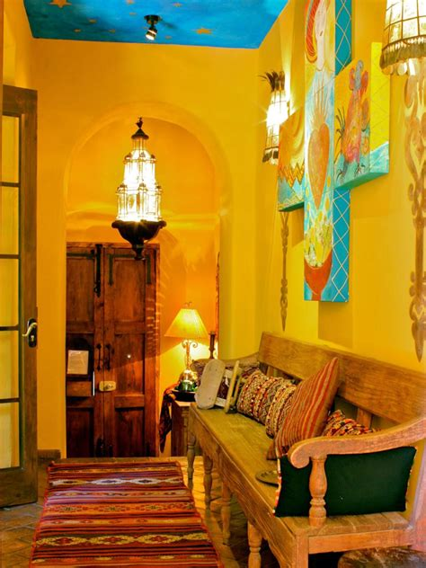 spanish inspired home decor spanish style decorating ideas spanish style hgtv and