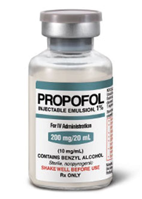 Ketamine Infusion For Detox by Propofol As A Of Abuse The Poison Review