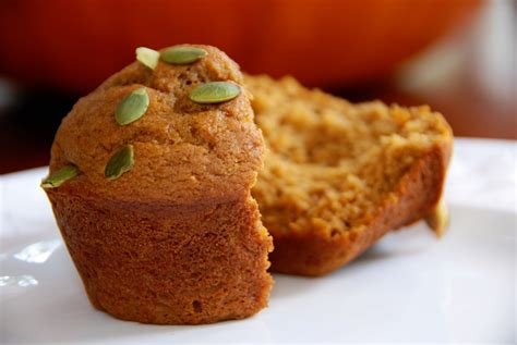 simple girl low fat pumpkin muffins