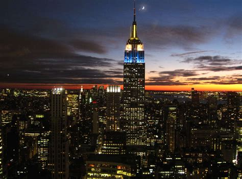 new lights for the empire state building greener ideal