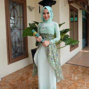 kebaya wisuda hijab simple model kebaya modern hijab yang populer gebeet com