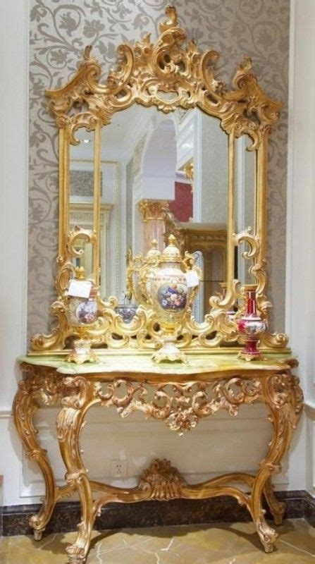 rococo style furniture gild that