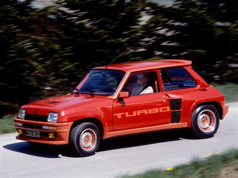 renault turbo renault 5 turbo specs 1980 1981 1982 1983 1984