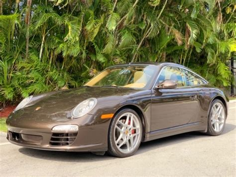 2009 Porsche 911 997 2 Targa 4s Manual Trans Stock 3145