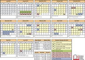 Fcps Calendar 2015 Fairfax County Schools Standard Calendar 2014 2015