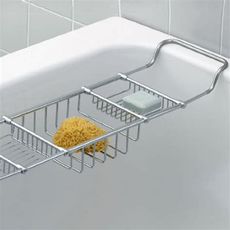 chrome bathtub caddy how to adjustable traditional bathtub caddy rack model