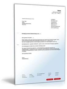 Schreiben Gehaltserhöhung Muster Arbeitgeber Muster F 252 R Fristgem 228 223 E K 252 Ndigung Arbeitsvertrag In Probezeit