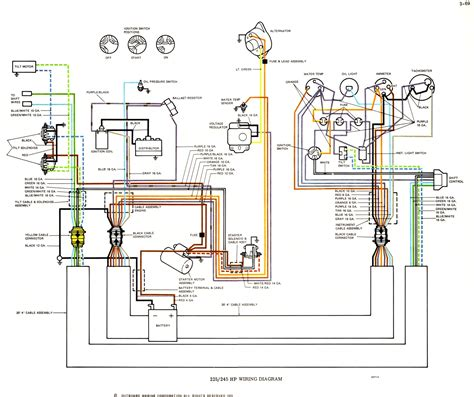 boat wiring diagram for tachometer fuse box and