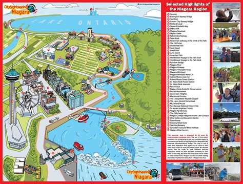 map of tourist attractions maps update 15001137 niagara falls tourist attractions