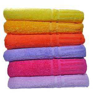 luxury 650 gram cotton bath towel pink set of 2